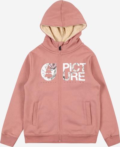 Picture Organic Clothing Hoodie in grün / rosa / weiß, Produktansicht