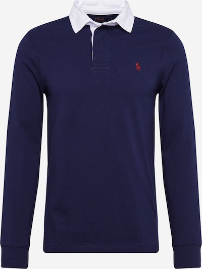 POLO RALPH LAUREN Shirt 'LSRGBYCMSLM2-LONG SLEEVE-KNIT' in navy, Produktansicht