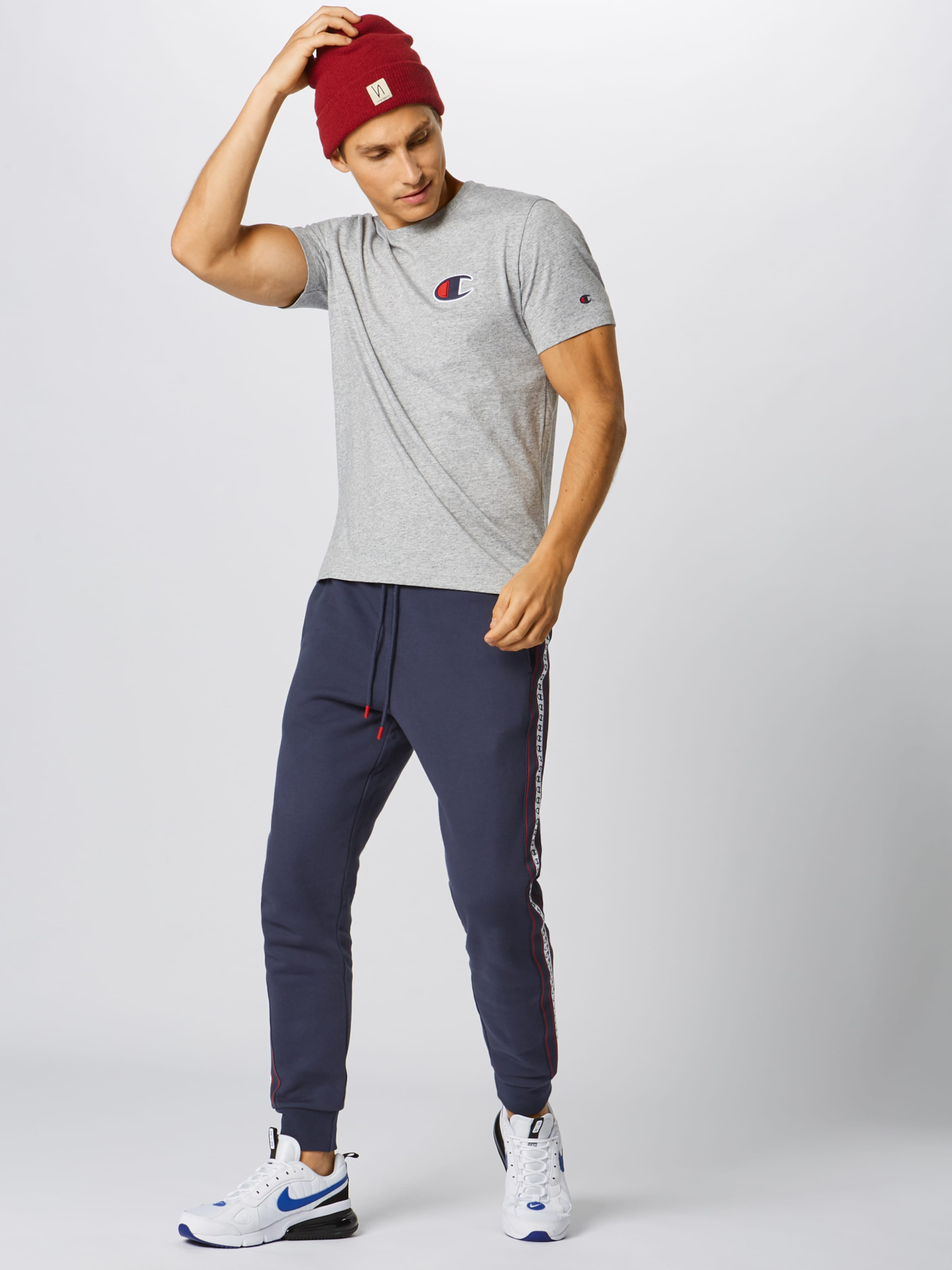 Apparel Authentic Grau Shirt Athletic 'crewneck' In Champion xdroeWCB