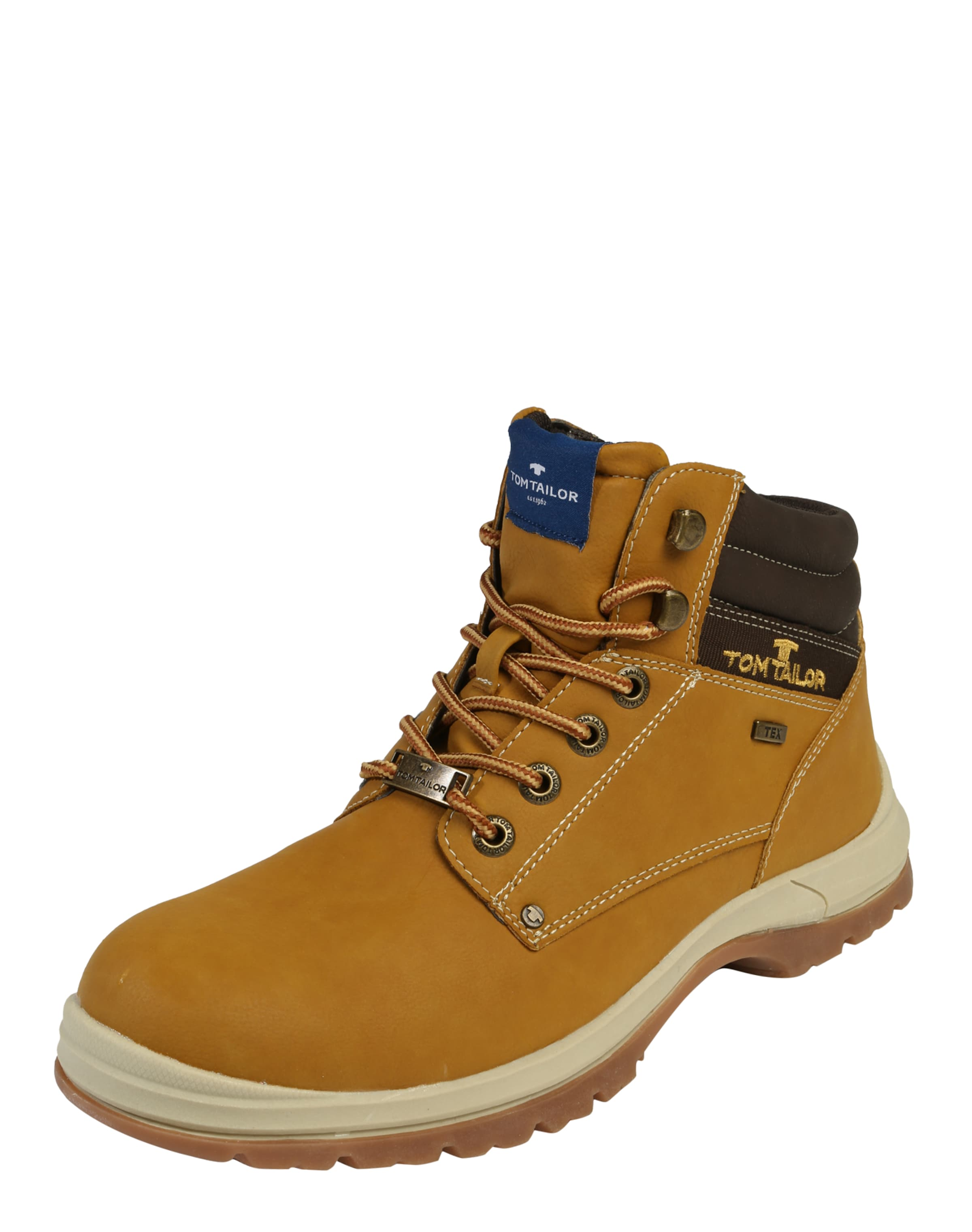 TOM TAILOR | Schnürboots mit Bergsteigerösen Schuhe Schuhe Schuhe Gut getragene Schuhe 5d5207