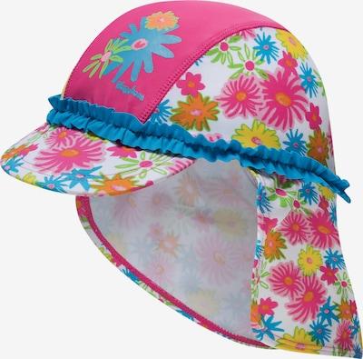 PLAYSHOES Mütze 'BLUMEN' in pink, Produktansicht