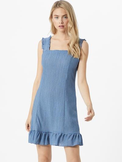 Trendyol Letní šaty - modrá / bílá, Model/ka