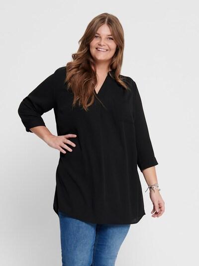ONLY Carmakoma Tunika 'CARLAVENDER' in schwarz, Modelansicht