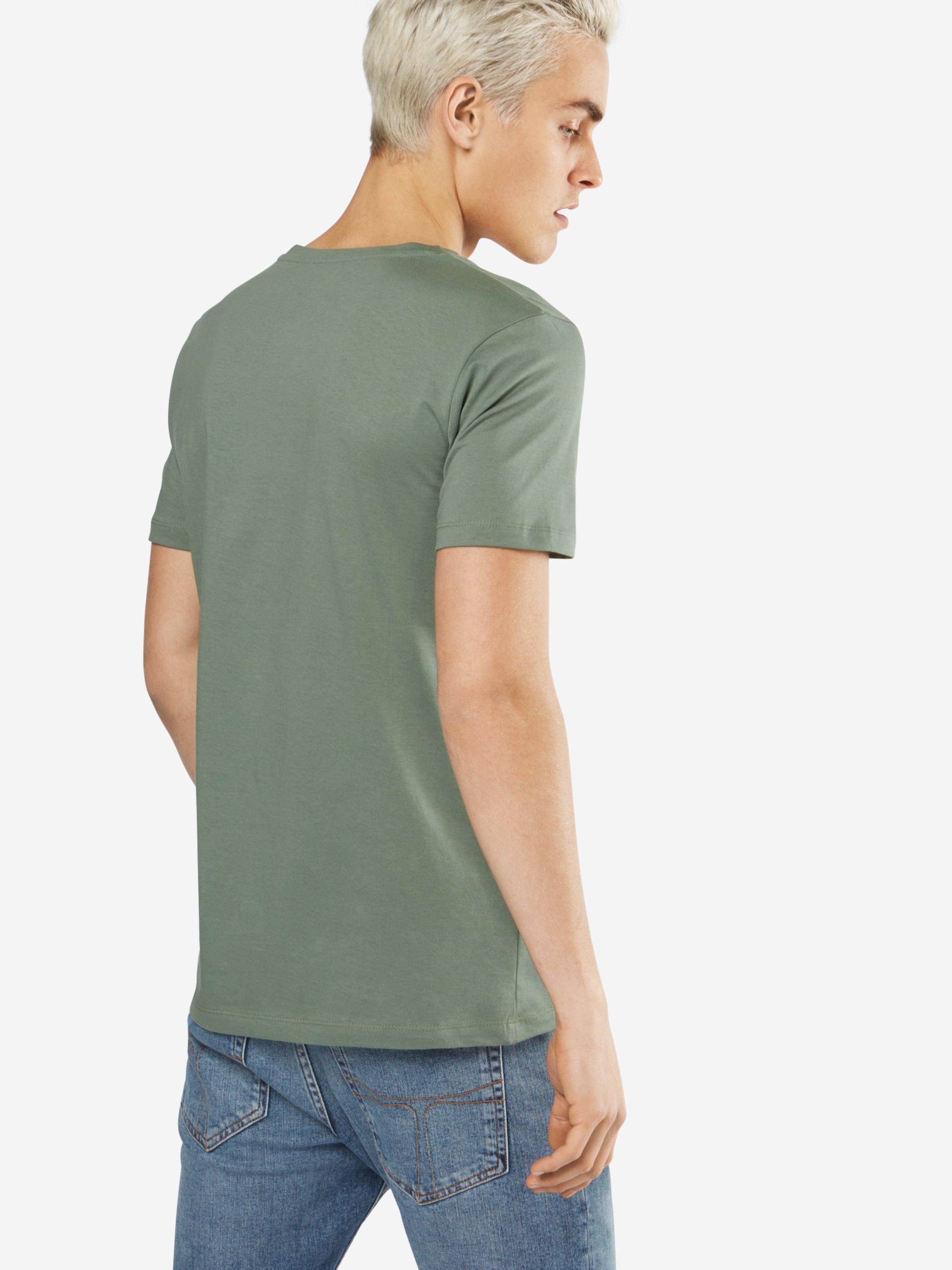 Schnelle Lieferung TOM TAILOR DENIM T-Shirt 'NOS crewneck tee with print' Wiki Countdown-Paket Günstig Online 48aidUgR