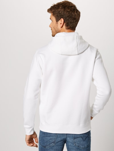 Nike Sportswear Sweatshirt 'Club' in weiß: Rückansicht