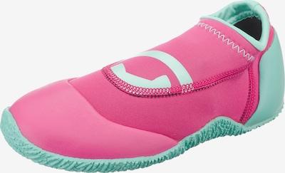 HYPHEN Badeschuhe 'Magli' in türkis / pink, Produktansicht