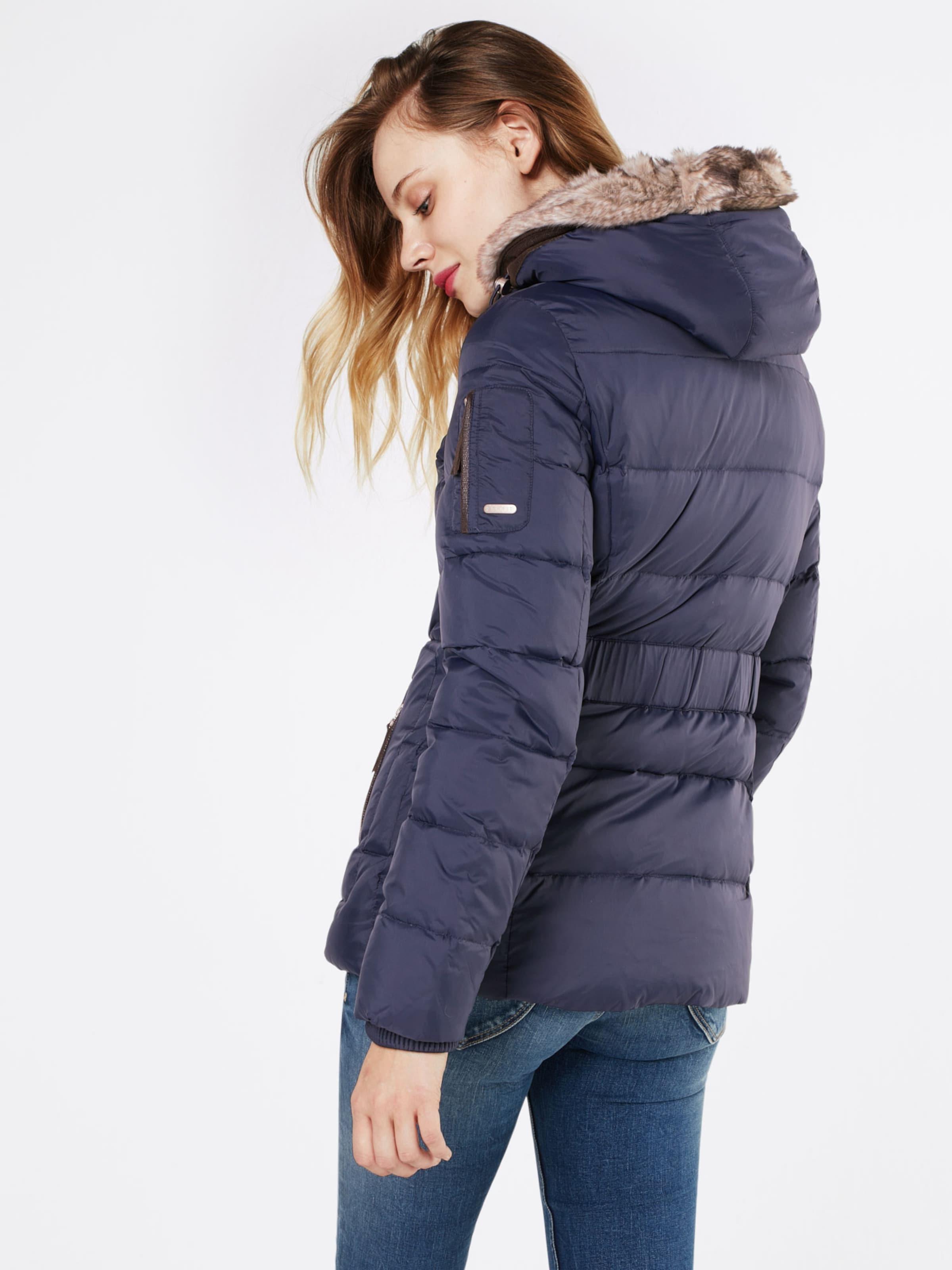 ESPRIT Winterjacke mit Kunstfell-Kapuze 'RDS' Gefälschte Online-Verkauf gmoLCcav