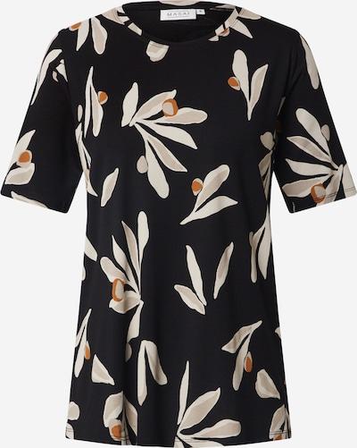 Masai T-shirt 'Butta' en nude / noisette / noir, Vue avec produit