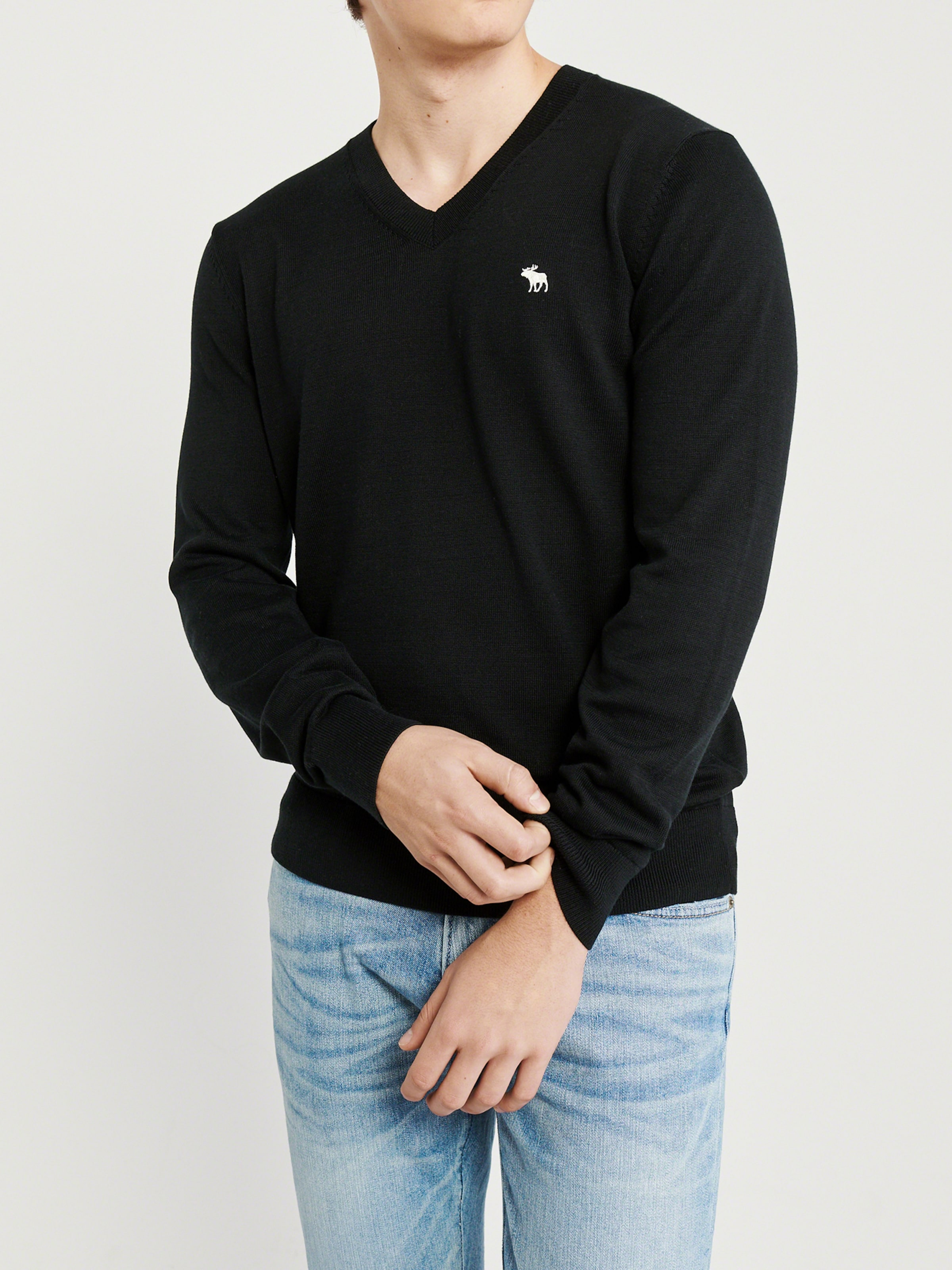 Abercrombieamp; Abercrombieamp; Fitch Pullover Schwarz In Fitch EHDI29