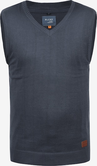 BLEND V-Ausschnitt-Pullover 'Larsson' in blau / dunkelblau, Produktansicht