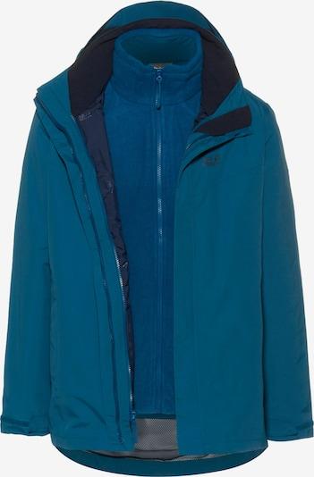 JACK WOLFSKIN Veste outdoor 'GOTLAND 3IN1' en bleu, Vue avec produit