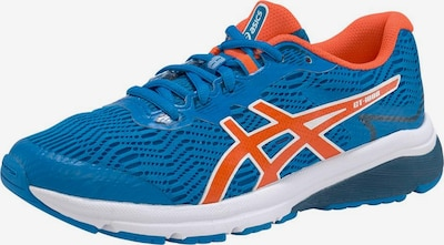 ASICS GT-1000 8 GS in blau / orange / weiß, Produktansicht