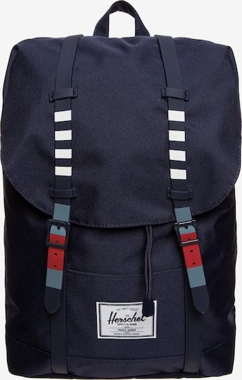 Herschel Rucksack 'Retreat' in navy, Produktansicht