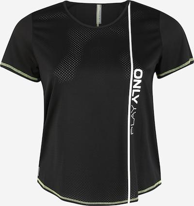 Only Play Curvy Shirt in schwarz, Produktansicht
