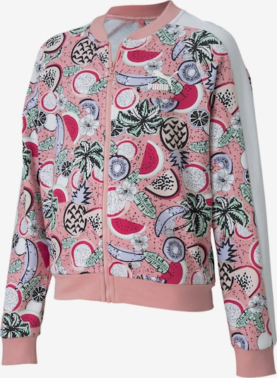 PUMA Jacke 'Classics Fruit' in mischfarben / rosa, Produktansicht