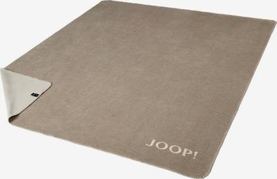 JOOP! Deken in de kleur Sand / Natuurwit, Productweergave
