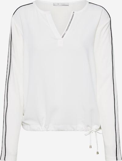 monari Blusenshirt in creme / schwarz, Produktansicht