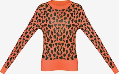 MYMO Pullover in orange / schwarz, Produktansicht