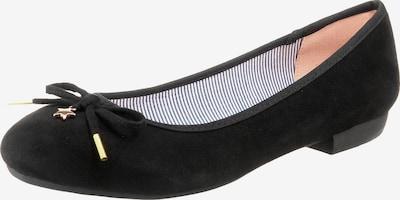 JANE KLAIN Klassische Ballerinas in schwarz, Produktansicht