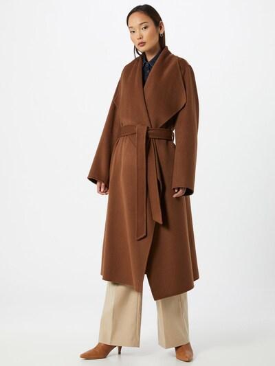 IVY & OAK Manteau mi-saison en marron, Vue avec modèle
