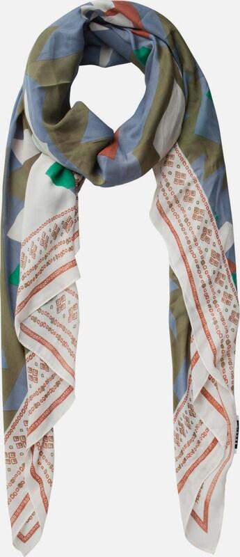 PIECES Langer, bedruckter Schal