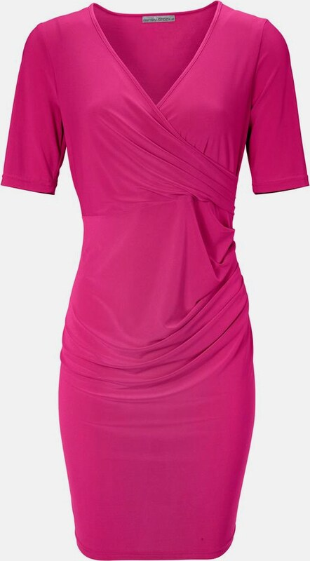 Ashley Brooke by heine Bodyform-Jerseykleid mit Wickel-Optik