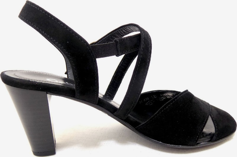 GABOR Sandalen met riem in Zwart QtjNffNB