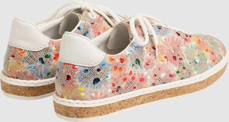 RIEKER Sneaker mit buntem Print