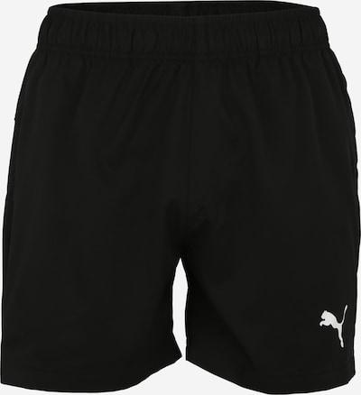 PUMA Pantalon de sport 'ACTIVE' en noir / blanc, Vue avec produit