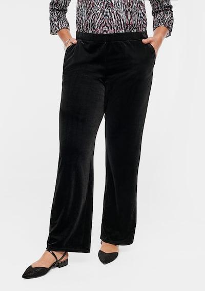 TRIANGLE Hose in schwarz, Modelansicht