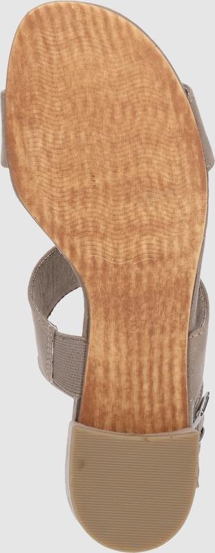 MARCO TOZZI | Riemchensandale 'Midheel Sandalette' Schuhe Gut getragene Schuhe
