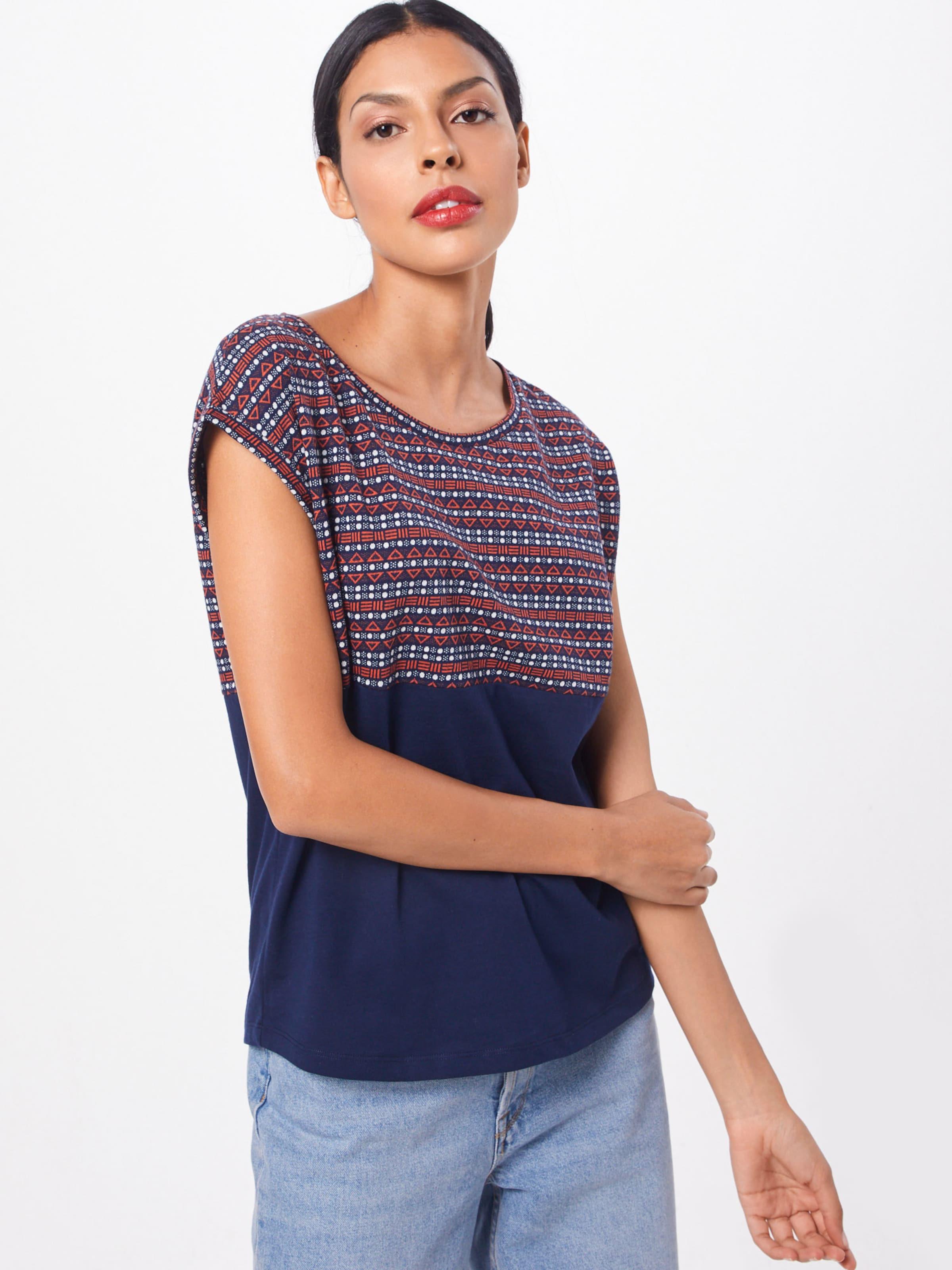 T shirt De En MarineMélange Bleu Iriedaily Couleurs vIYf6y7bgm