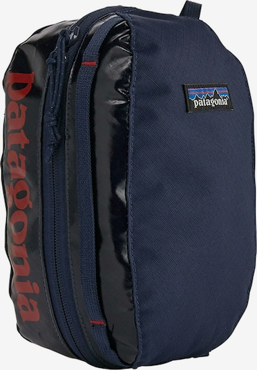 PATAGONIA Packtasche 'Black Hole Cube Small' in navy / dunkelrot, Produktansicht