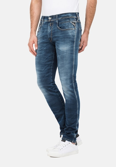 REPLAY Jeans 'ANBASS' in blau, Modelansicht