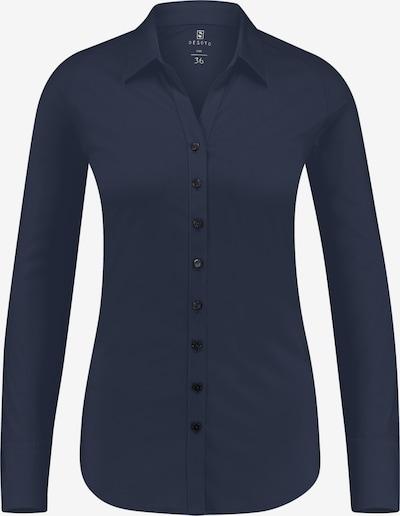 DESOTO Bluse in dunkelblau, Produktansicht