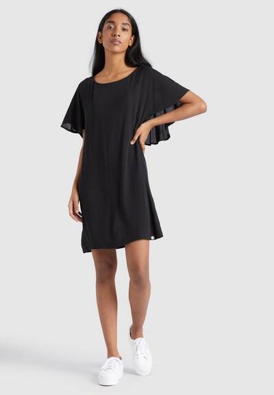 khujo Kleid ' AKAULA ' in schwarz, Modelansicht