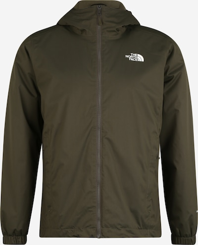 THE NORTH FACE Veste outdoor 'Quest' en taupe / vert, Vue avec produit