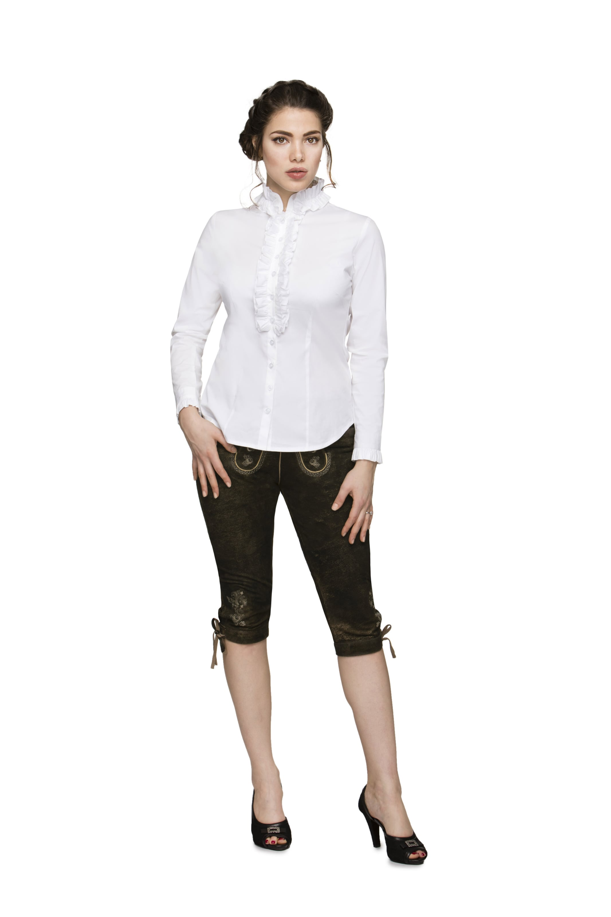 Bluse In Weiß 'emilia' Stockerpoint 80OPXwnk