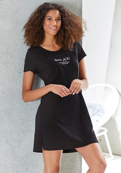 VIVANCE Sleepshirt in schwarz, Modelansicht