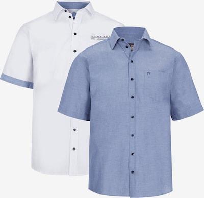 Jan Vanderstorm Hemd 'Evin' in blau / weiß, Produktansicht