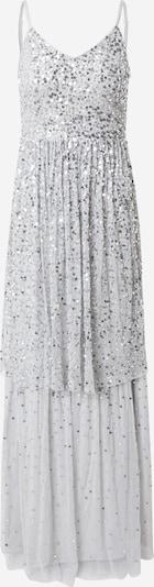 Frock and Frill Robe de soirée en gris clair, Vue avec produit