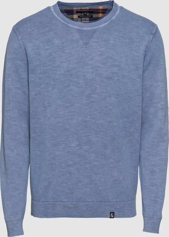 COLOURS & SONS Pullover 'miami slub' in rauchblau  Neue Kleidung in dieser Saison