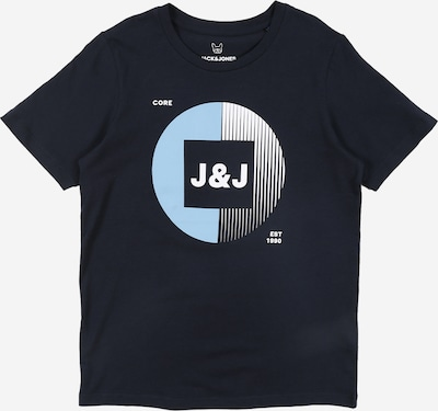 Jack & Jones Junior Shirt 'JCOBooster Tee May 20 JR' in dunkelblau, Produktansicht