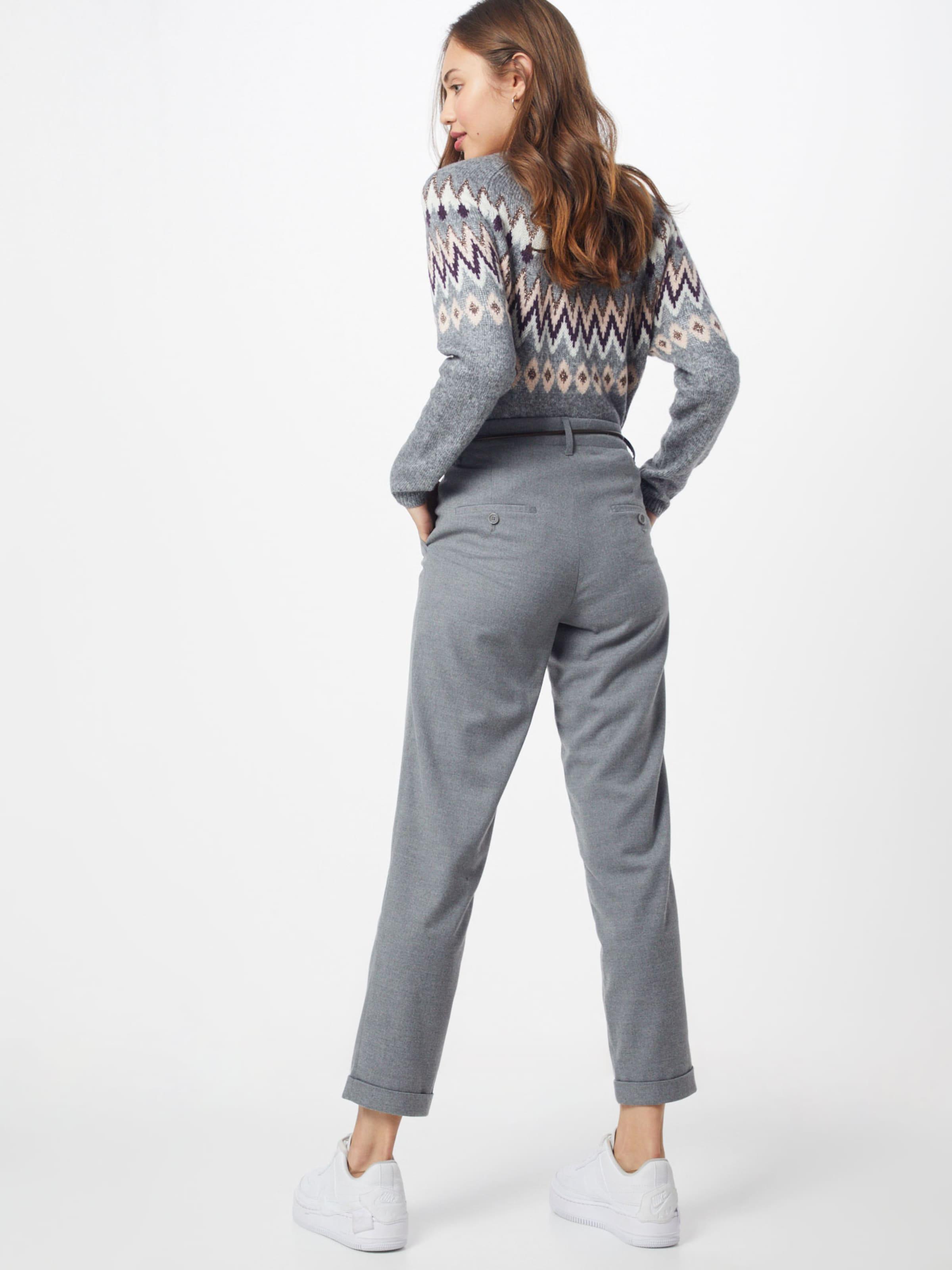 BRAX Élére vasalt nadrágok 'monacos' szürke színben