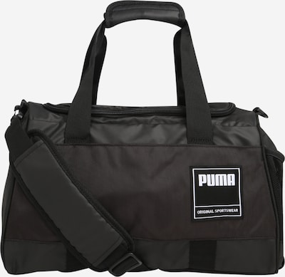 Geantă sport PUMA pe negru, Vizualizare produs