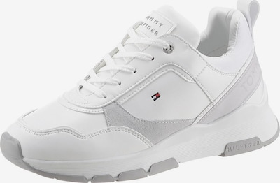 TOMMY HILFIGER Sneaker 'SPORTY CHUNKY LEATHER SNEAKER' in weiß, Produktansicht