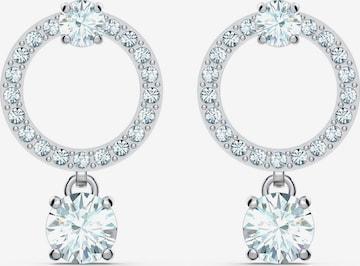 Swarovski Earrings 'Attract Circle' in Silver