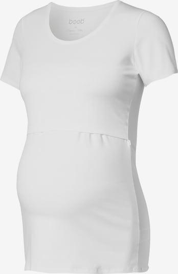 BOOB Stillshirt 'Classic' in weiß, Produktansicht