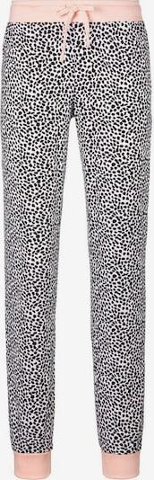 Pižaminės kelnės iš VIVANCE, spalva – rožių spalva / juoda / balta, Prekių apžvalga
