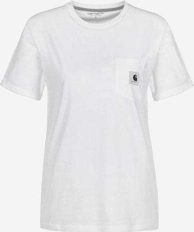 Carhartt WIP Carrie Pocket T-Shirt in naturweiß, Produktansicht